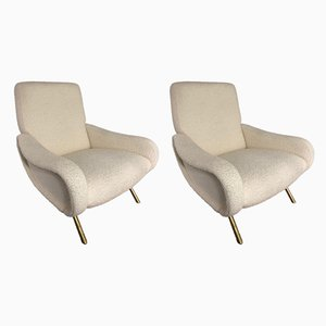 Armchairs by Marco Zanuso for Arflex, 1951, Set of 2