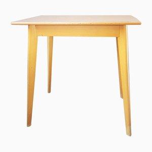 Mid-Century Tisch aus Buche & Resopal