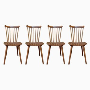 Vintage Dining Chairs from Baumann, 1960s, Set of 4