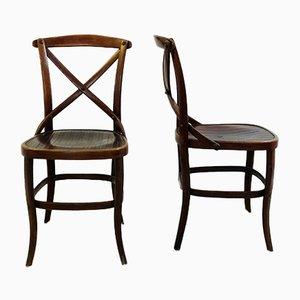 Chaises de Salle à Manger Modèle 91 Vintage par Jacob And Josef Kohn, Set de 2