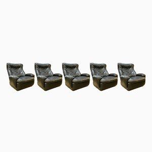Sitzgruppe, 1970er, 5er Set