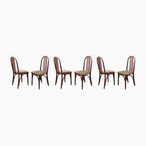 Chaises de Salle à Manger Vintage par J. Hoffmann, Set de 6