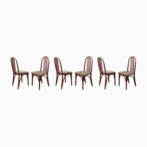 Vintage Dining Chairs by J. Hoffmann, Set of 6