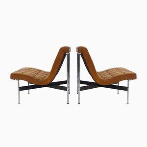 Italienische Vintage Sessel von William Katavolos für ICF Milano, 2er Set
