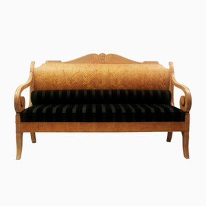 Vintage Russian Biedermeier Sofa