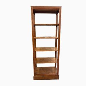 Libreria vintage in legno di abete
