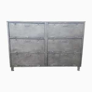 Iron Military Dresser, 1940s