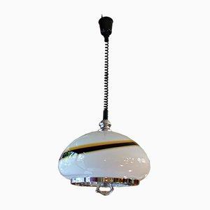 Lámpara de cristal de Murano, años 60