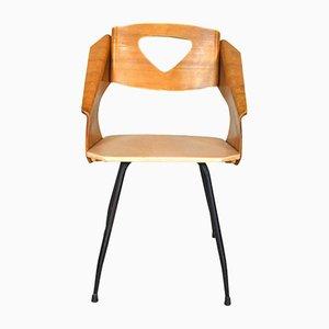 Mid-Century Stühle aus Bugholz, 1950er