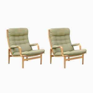 Ingrid Lounge Chairs by Bruno Mathsson for Dux, 1960s, Set of 2