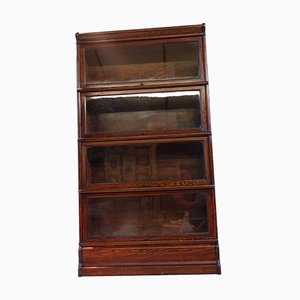 Antique Sectional Barristers Bookcase by Globe Wernicke