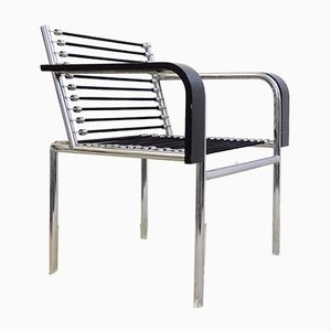 Vintage Black Sandows Armchair by Herbst