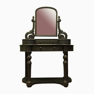 Antique Black Dressing Table