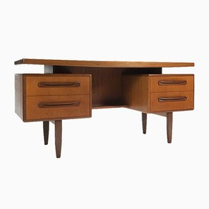 Vintage Teak Fresco Series Desk by Victor Wilkins for G-Plan, 1960s