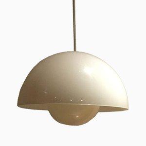 Lampada in plexiglas di Verner Panton, anni '60