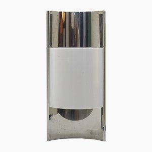 Vintage Chrome and Plexiglass Table Lamp