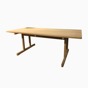 Oak Shaker Dining Table by Børge Mogensen for Fredericia Furnitures, 1982