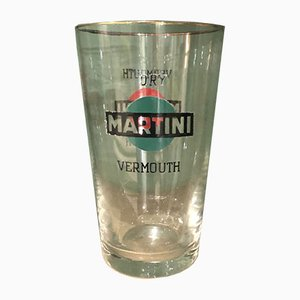 Verre à Martini Soufflé de Martini, années 60