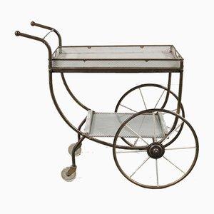 Swedish Brass Tea Trolley from Svenskt Tenn, 1950s