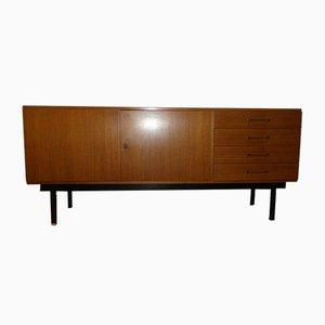 Mid-Century Sideboard aus Nussholz & Stahl, 1960er