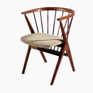 Moderner dänischer Nr.8 Armlehnstuhl von Helge Sibast für Sibast, 1950er