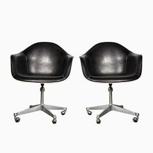 Sillones vintage de Charles & Ray Eames para Herman Miller. Juego de 2