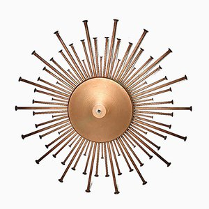 Danish Iron Wall Lamp from Dantoft, 1970s