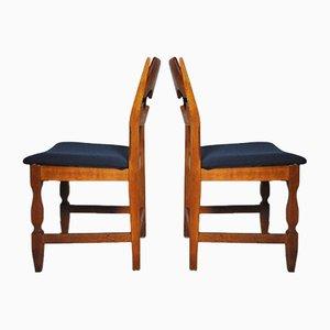 Maßgefertigter Vintage Stuhl von Henning Kjærnulf für Nyrup Møbelfabrik, 1950er