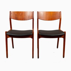 Danish Teak Dining Chairs from Sorø Stolefabrik, 1960s, Set of 2