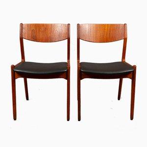 Danish Teak Dining Chairs from Sorø Stolefabrik, 1960s, Set of 2