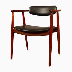 Dänischer Armlehnstuhl aus Teak, 1960er