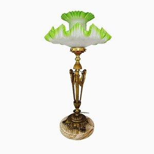 Lampada da tavolo antica