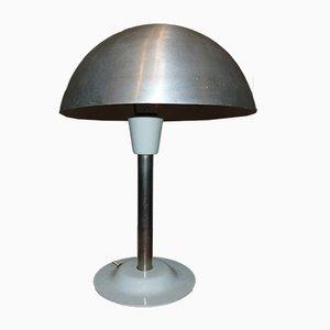 Vintage Aluminum Table Lamp, 1960s