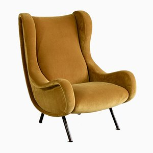 Italian Senior Armchair by Marco Zanuso for Arflex, 1951