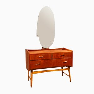 Danish Teak Dressing Table, 1950s