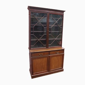 Antique Mahogany Bookcase, 1905