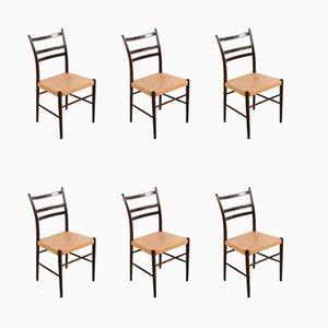 Mid-Century Gracell Dining Chairs by Yngve Ekström for Gemla Möbler, Set of 6