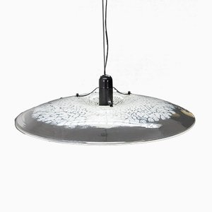 Large Murano Glass Pendant Lamp, 1978