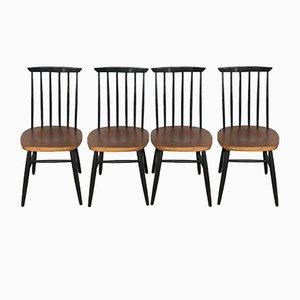 Chaises de Salle à Manger en Teck par Ilmari Tapiovaara, 1960s, Set de 4