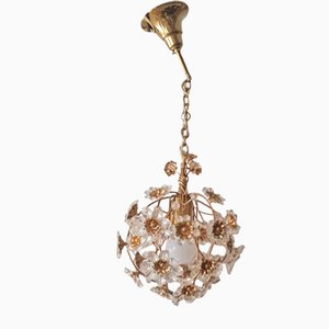 Flowers Ceiling Lamp from Palwa, 1960s