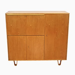 Dutch CB01 Beech Cabinet by Cees Braakman for UMS Pastoe, 1951