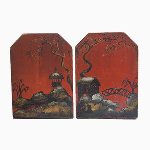 Antique Chinese Bookends, Set of 2