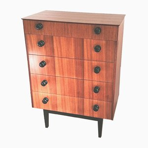 Mid-Century Teak Dresser from Symbol Furniture, 1960s