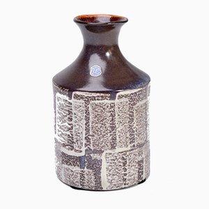 Jarrón Mid-Century pequeño de cerámica de Mari Simmulson para Upsala Ekeby, años 60