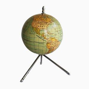 Vintage Tripod Globe, 1960s