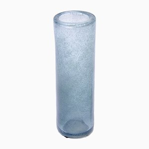 Blue Lava Glass Vase by Per Lütken for Holmegaard, 1960s