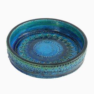 Mid-Century Keramikschale von Aldo Londi für Bitossi