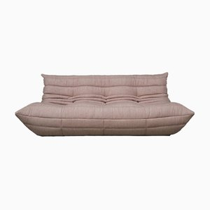 Pale Pink Togo Sofa by Michel Ducaroy for Ligne Roset, 1970s