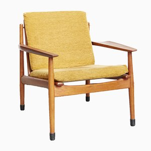 Teak Lounge Chair by Arne Vodder for Glostrup, 1970s