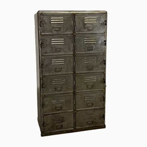 Mid-Century Industrial Locker